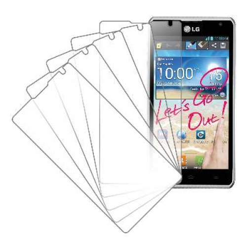 LG Spirit 4G MPERO 5 Pack of Clear Screen Protectors