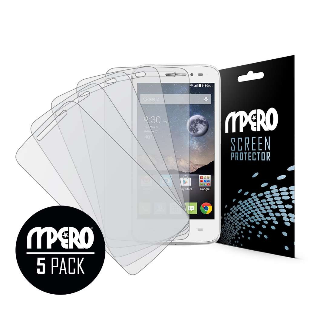 Alcatel OneTouch POP Astro MPERO 5 Pack of Matte Screen Protectors