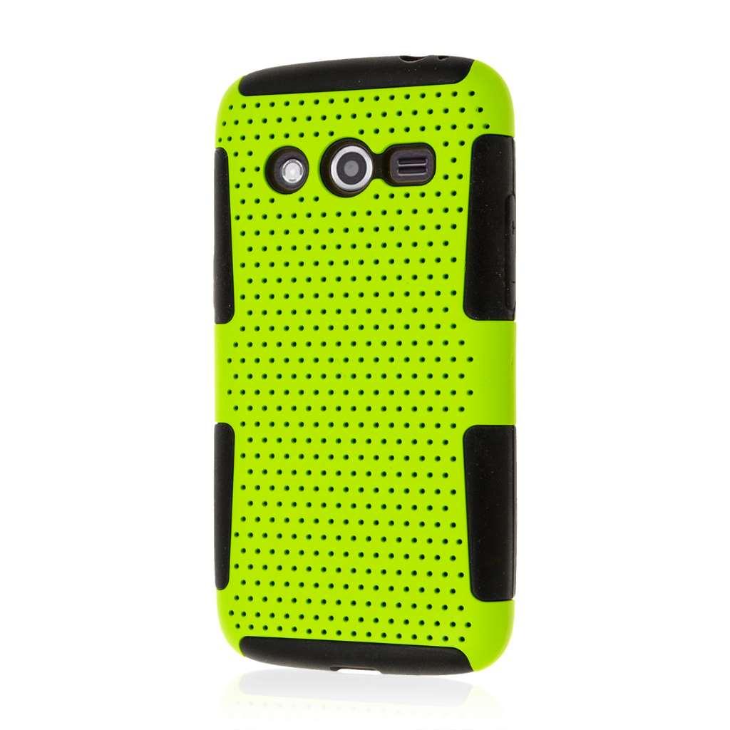 Samsung Galaxy Avant - Neon Green MPERO FUSION M - Protective Case Cover