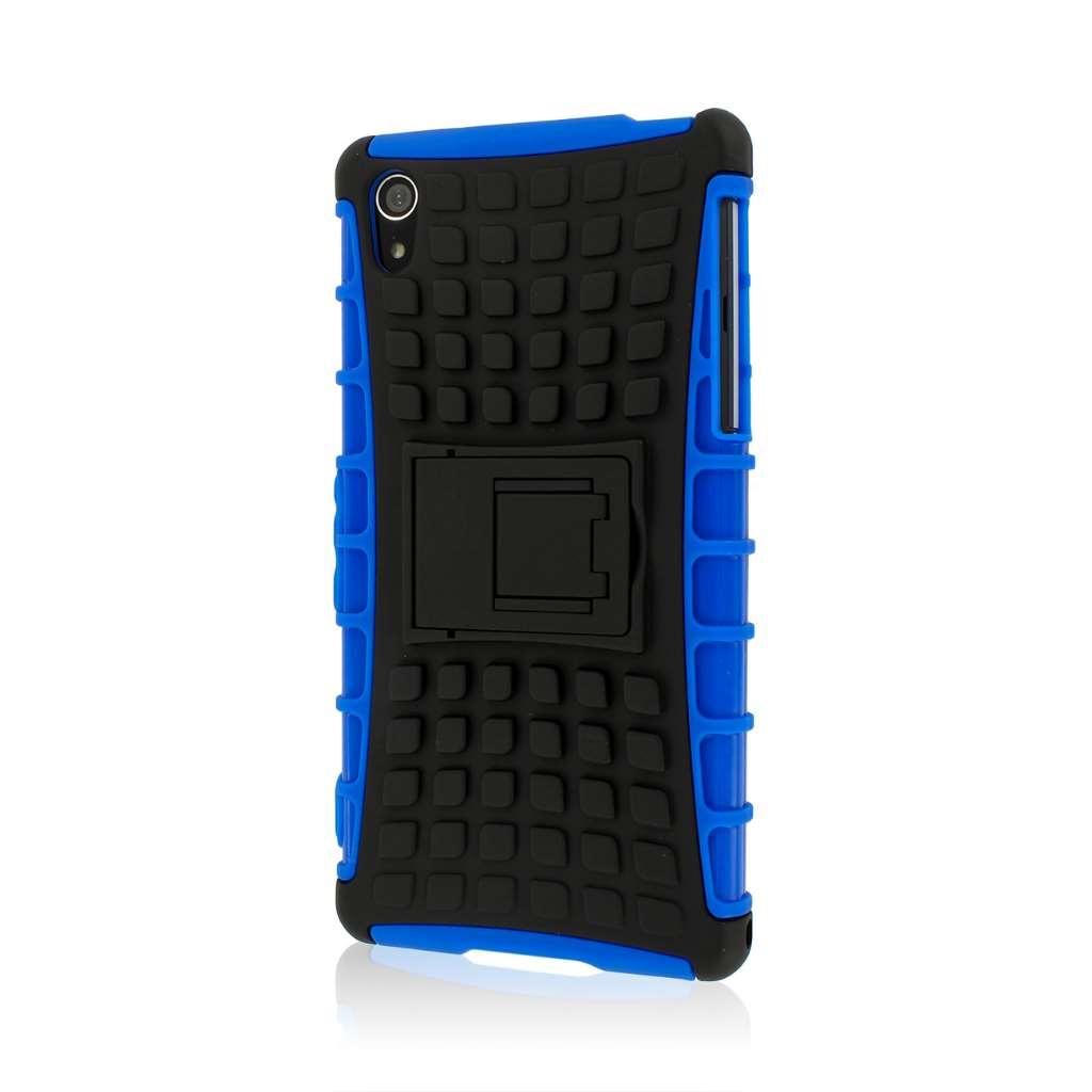 Sony Xperia Z2 - Blue MPERO IMPACT SR - Kickstand Case Cover