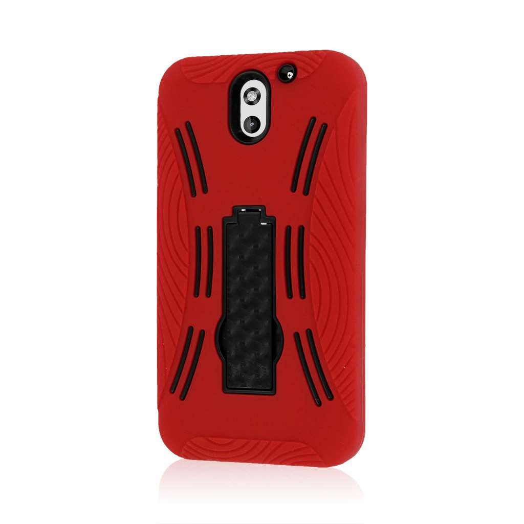 HTC Desire 610 - Red MPERO IMPACT XL - Kickstand Case Cover