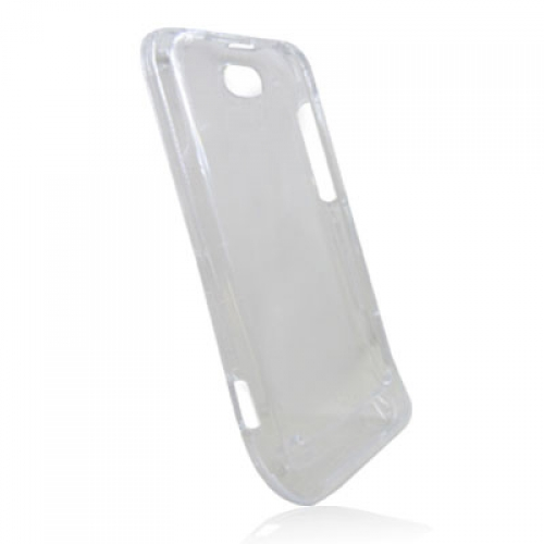 HTC One V Clear Crystal Transparent Hard Case Cover