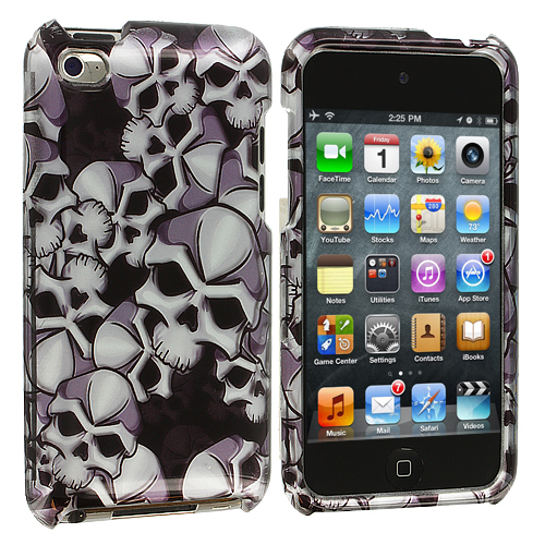 Apple iPod Touch 4th Generation Skull Design Crystal Hard Case Cover