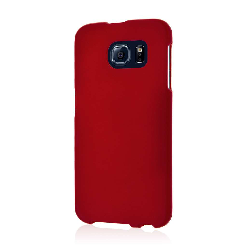 Samsung Galaxy S6 - Burgundy MPERO SNAPZ - Case Cover
