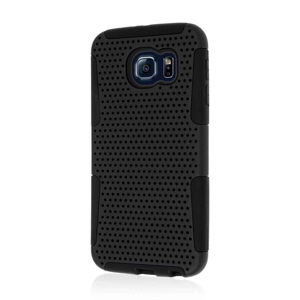 Samsung Galaxy S6 - Black MPERO FUSION M - Protective Case Cover