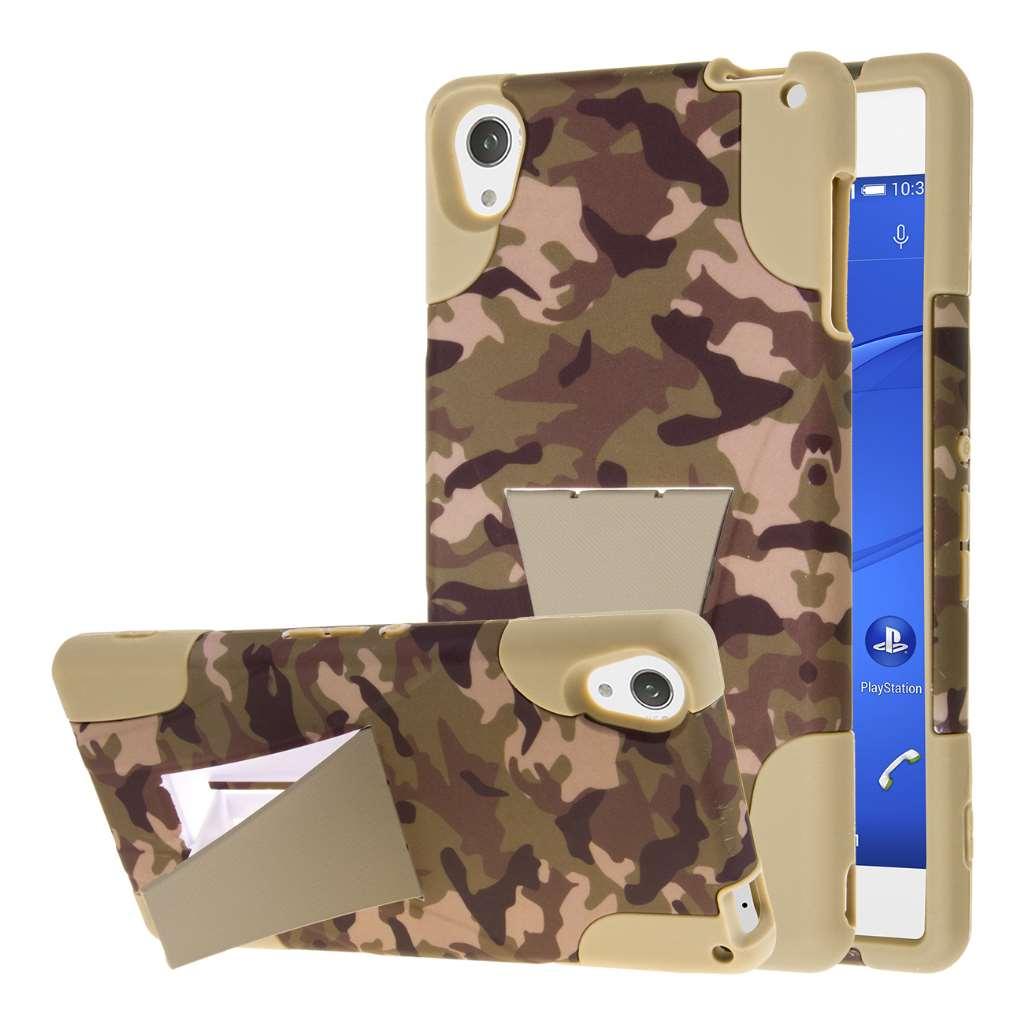 Sony Xperia Z3 - Hunter Camo MPERO IMPACT X - Kickstand Case Cover