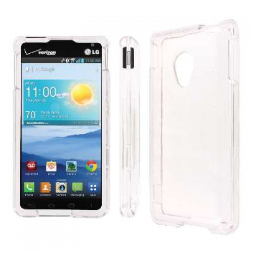 LG Lucid 2 MPERO Full Protection Clear Case Cover