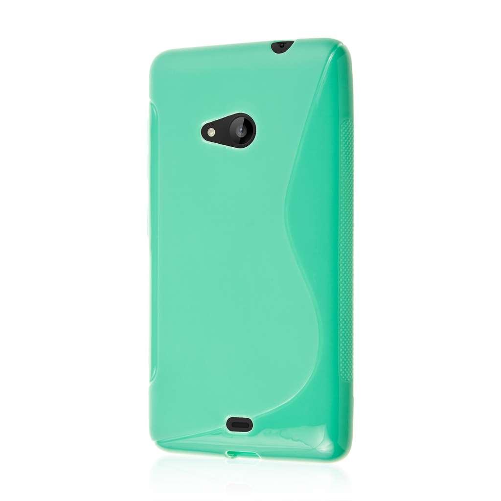 Microsoft Lumia 535 - Mint Green MPERO FLEX S - Protective Case Cover