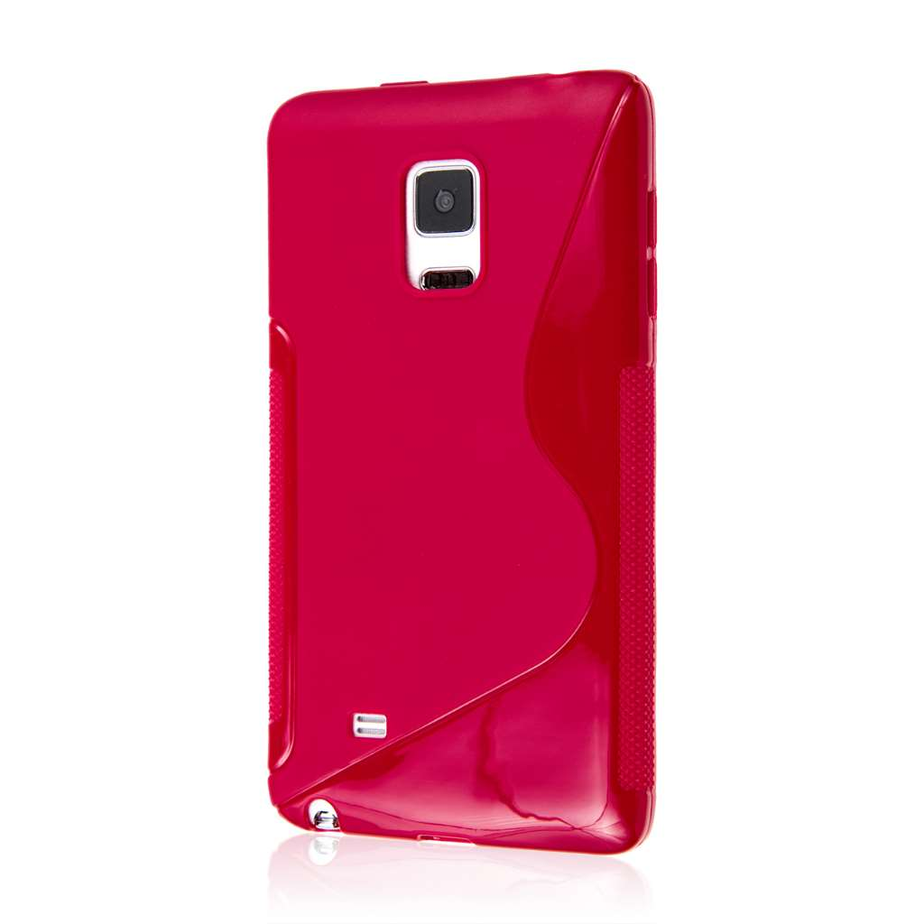 Samsung Galaxy Note Edge - Hot Pink MPERO FLEX S - Protective Case Cover