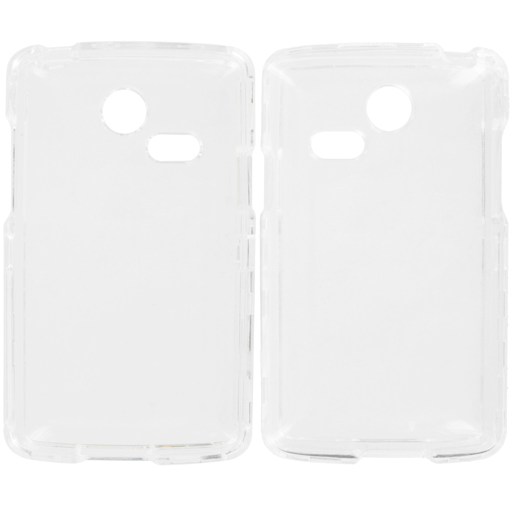 LG Sunrise Lucky L15G L16C Clear Crystal Transparent Hard Case Cover