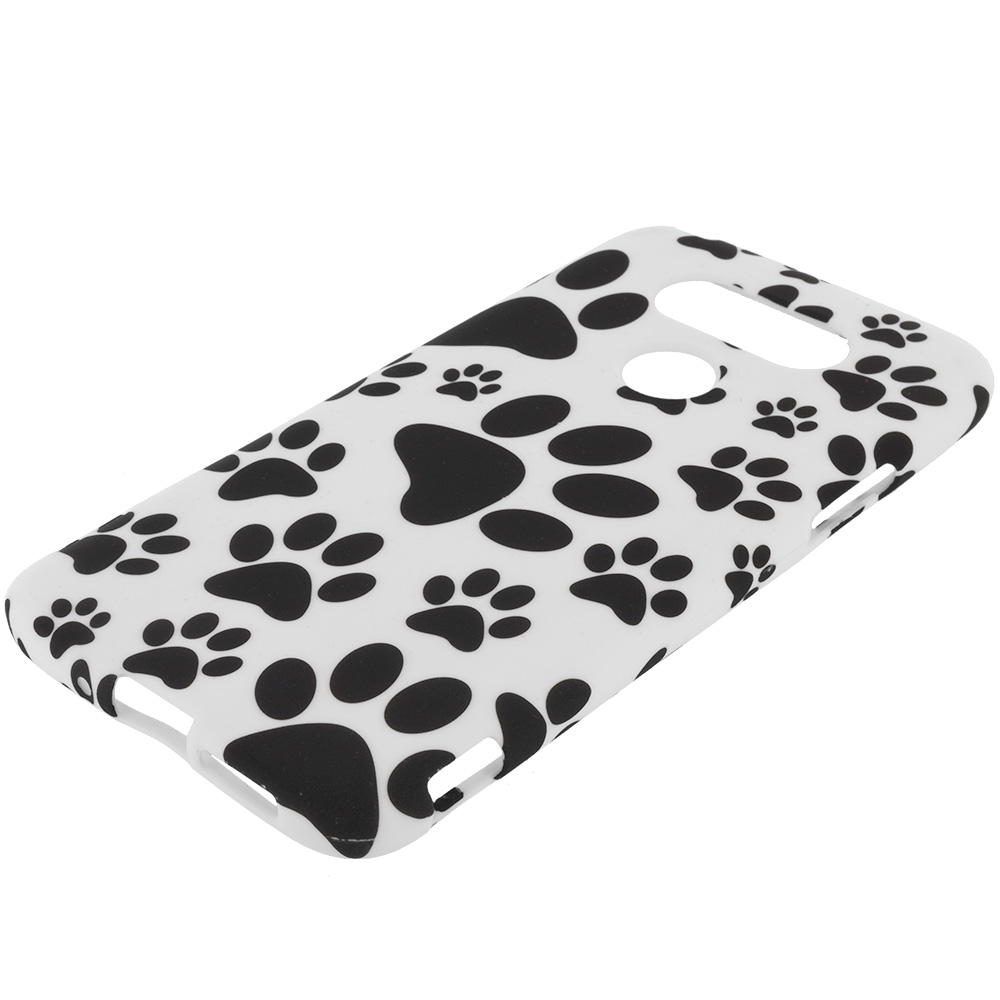 LG G5 Dog Paw TPU Design Soft Rubber Case Cover