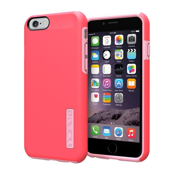 iPhone 6/6S - Coral/Light Pink Incipio DualPro Case Cover