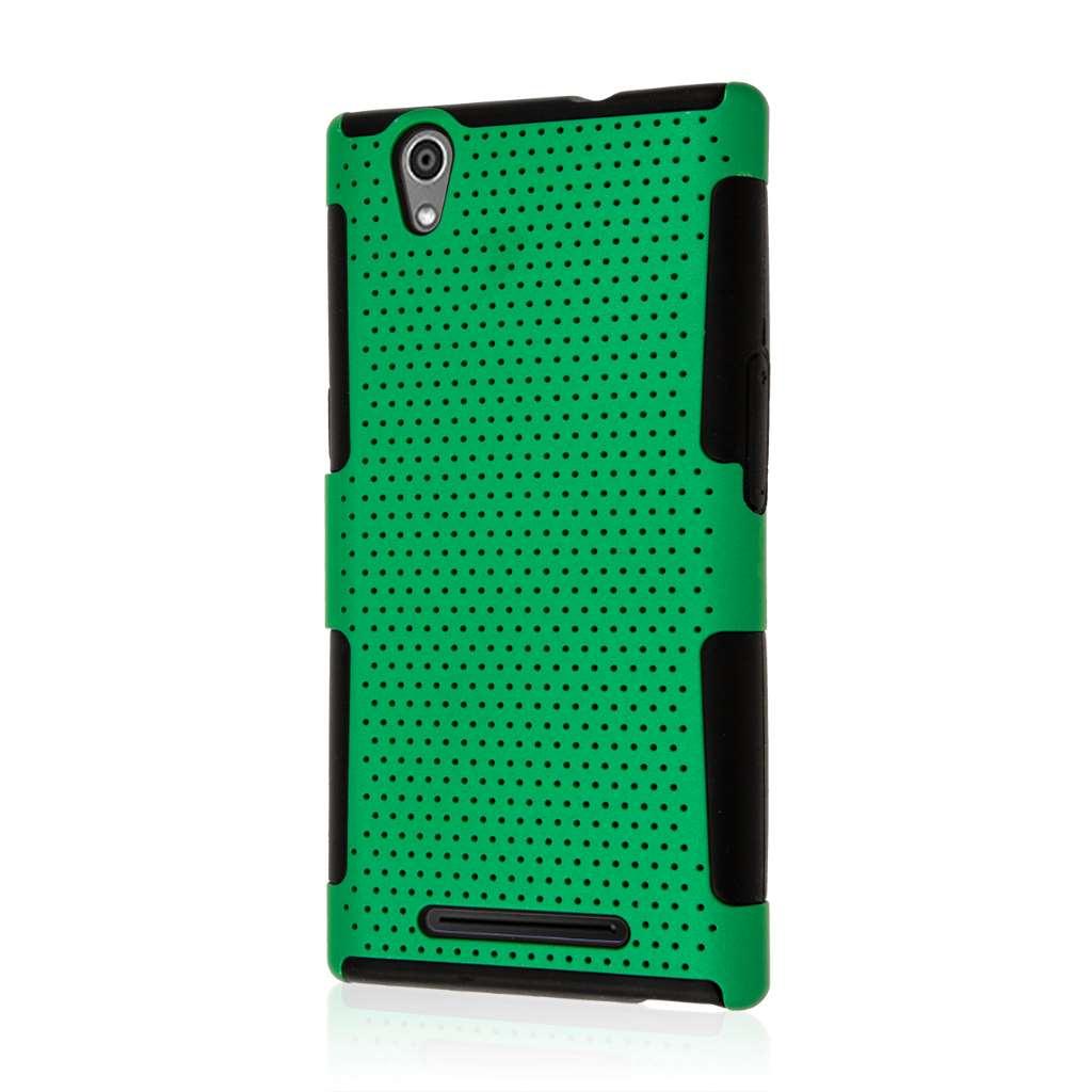 ZTE ZMAX - Green MPERO FUSION M - Protective Case Cover