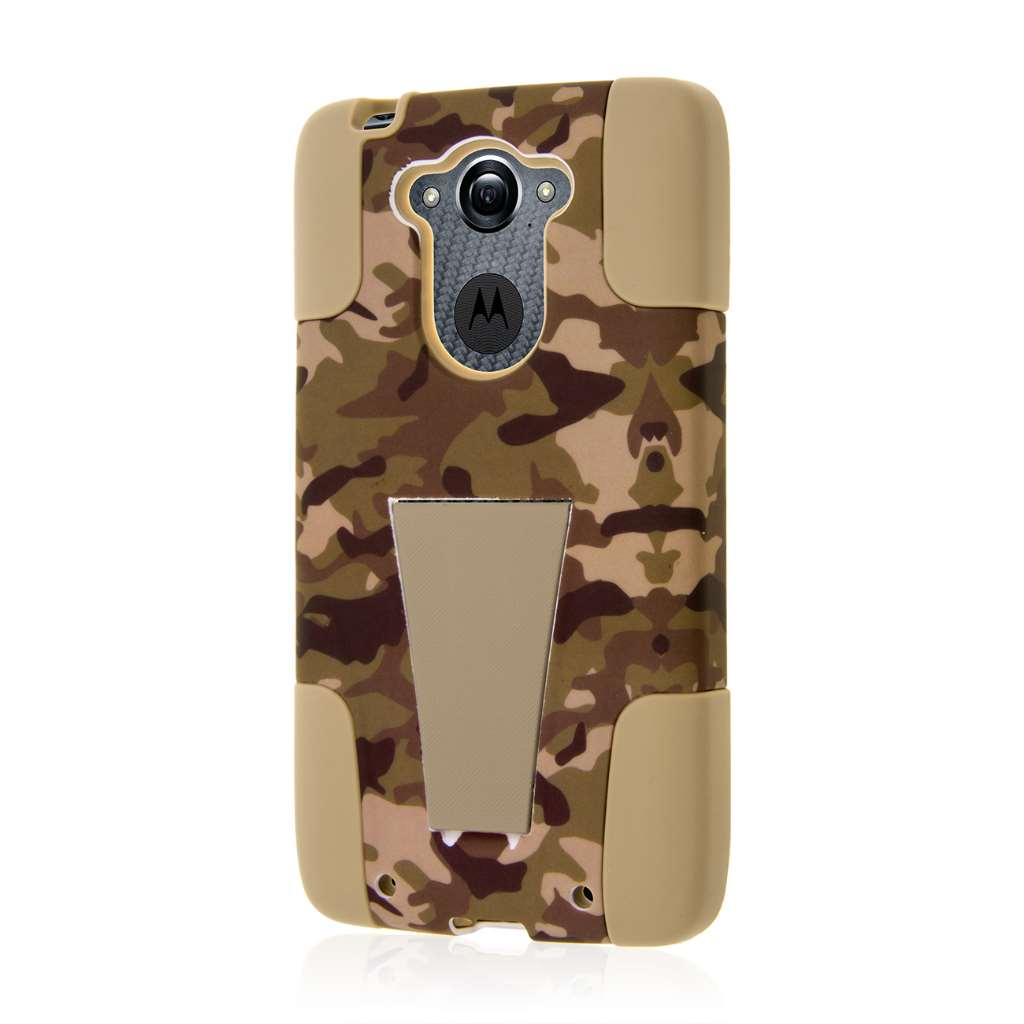 Motorola DROID TURBO - Hunter Camo MPERO IMPACT X - Kickstand Case Cover