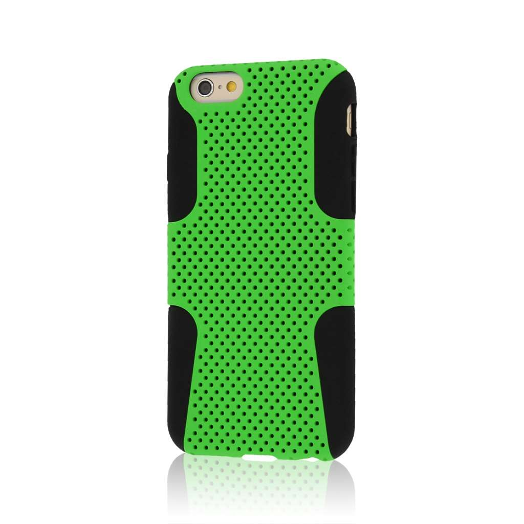 Apple iPhone 6/6S - Neon Green MPERO FUSION M - Protective Case Cover