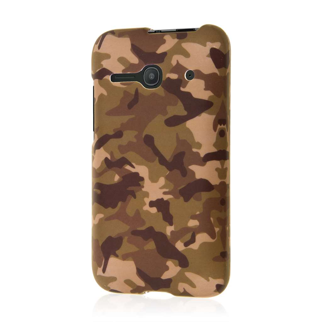 Alcatel OneTouch Evolve 2 - Green Camo MPERO SNAPZ - Case Cover