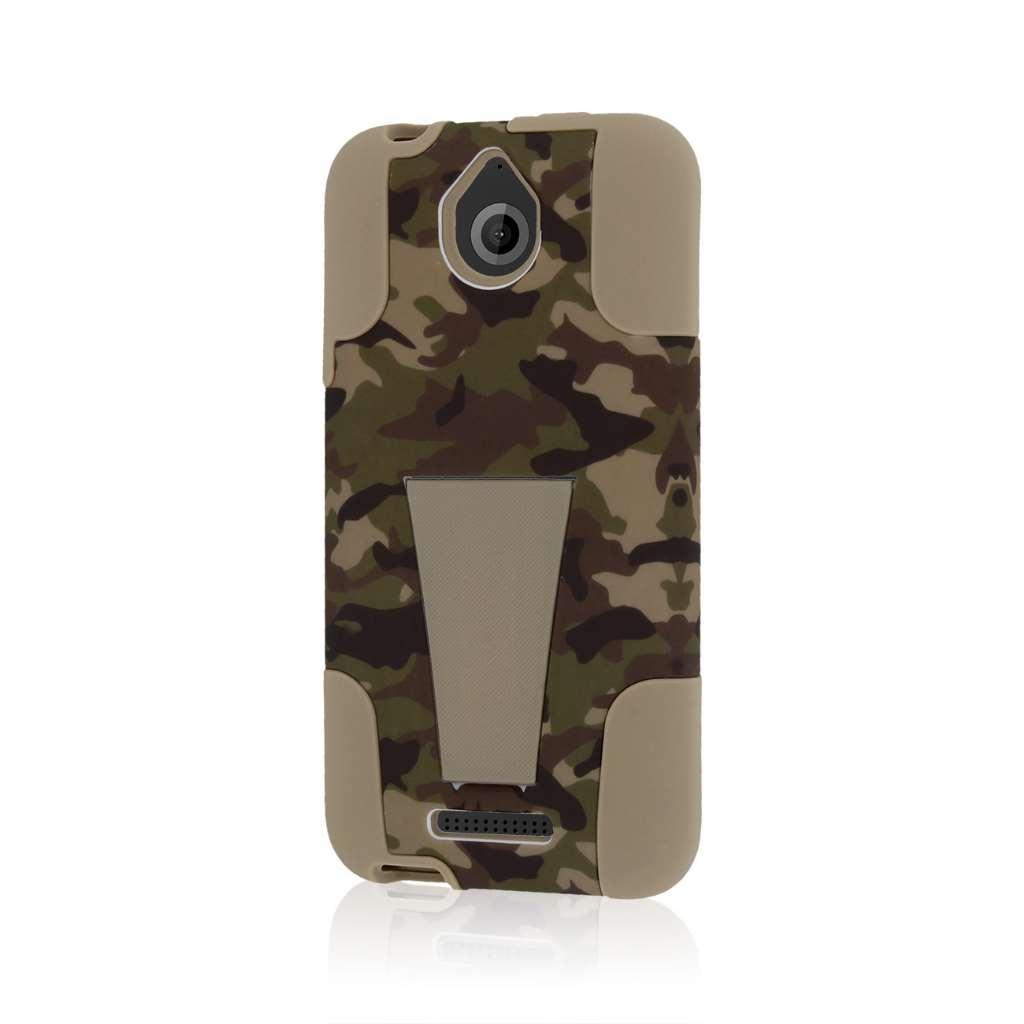 HTC Desire 510 - Hunter Camo MPERO IMPACT X - Kickstand Case Cover