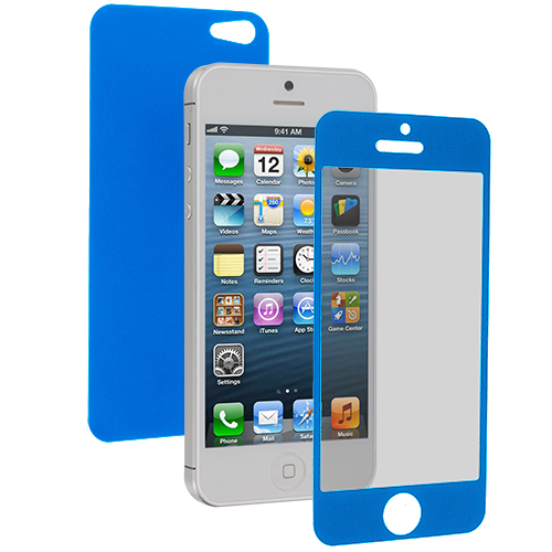 Apple iPhone 5 / 5S Blue LCD Screen Protector
