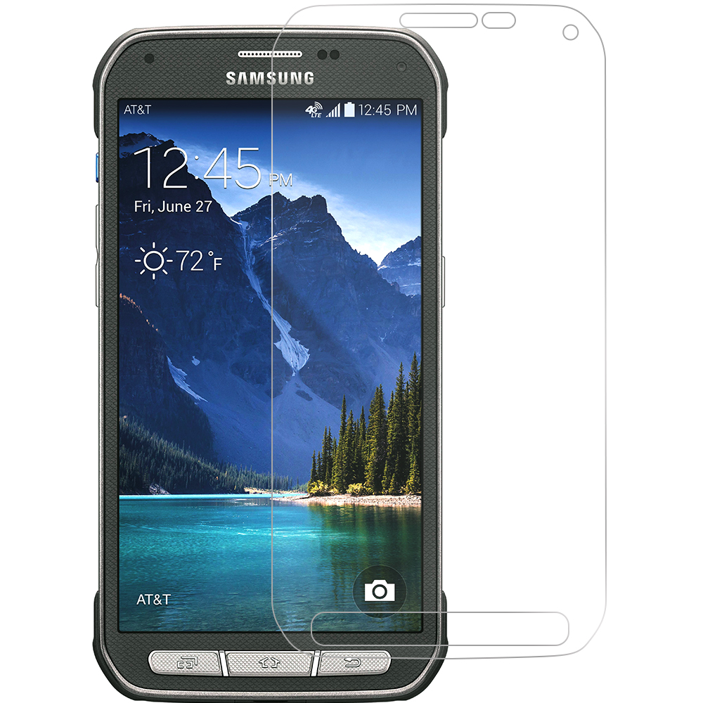 Samsung Galaxy S5 Active Clear LCD Screen Protector