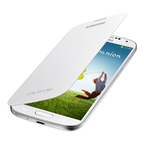 Galaxy S4 - White Samsung Flip Cover