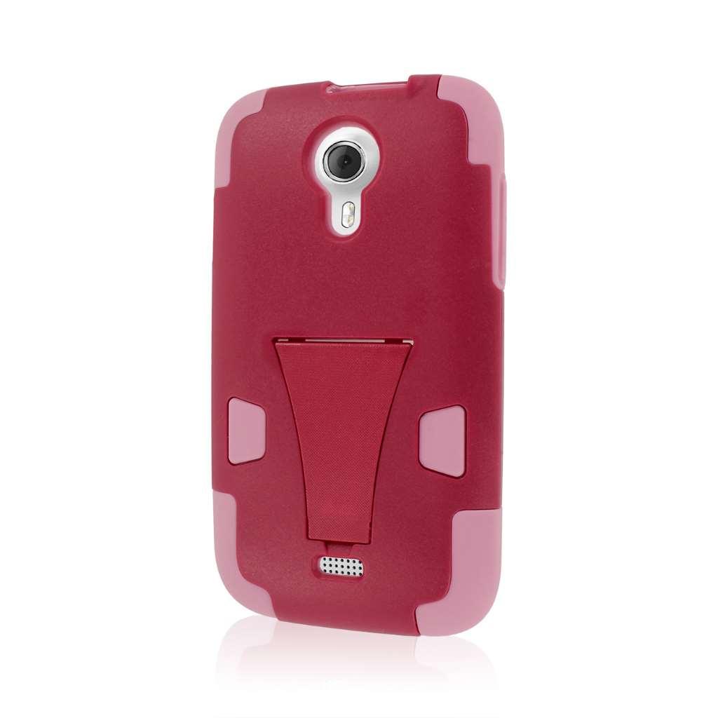 BLU Studio 5.0 - Hot Pink / Pink MPERO IMPACT X - Kickstand Case Cover