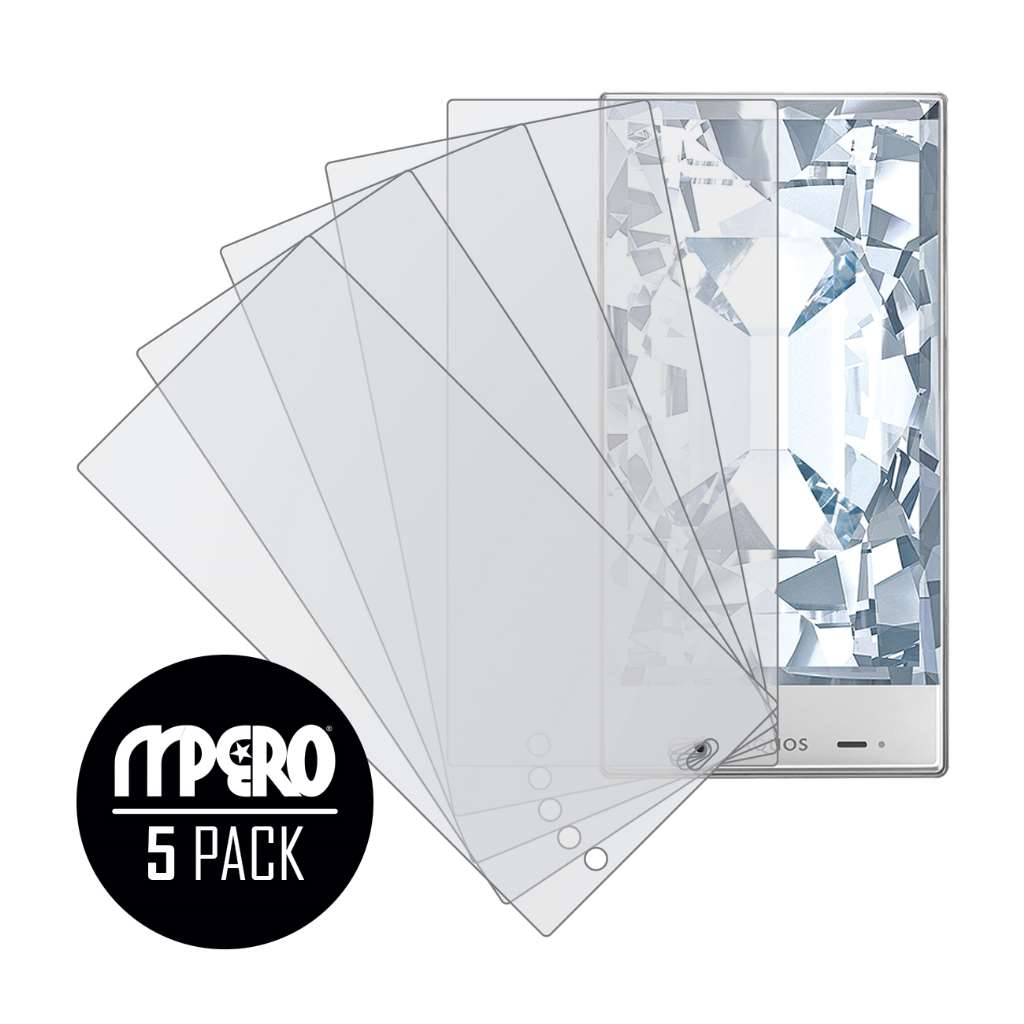 Sharp AQUOS Crystal MPERO 5 Pack of Matte Screen Protectors