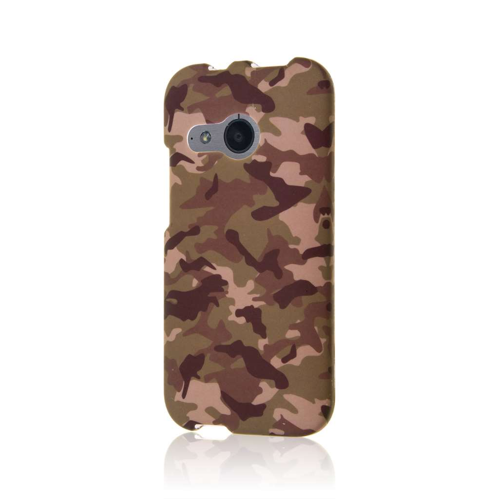 HTC One Mini 2 - Green Camo MPERO SNAPZ - Case Cover