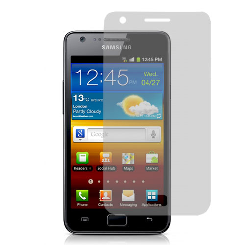 Samsung Galaxy S2 i9100 Clear LCD Screen Protector