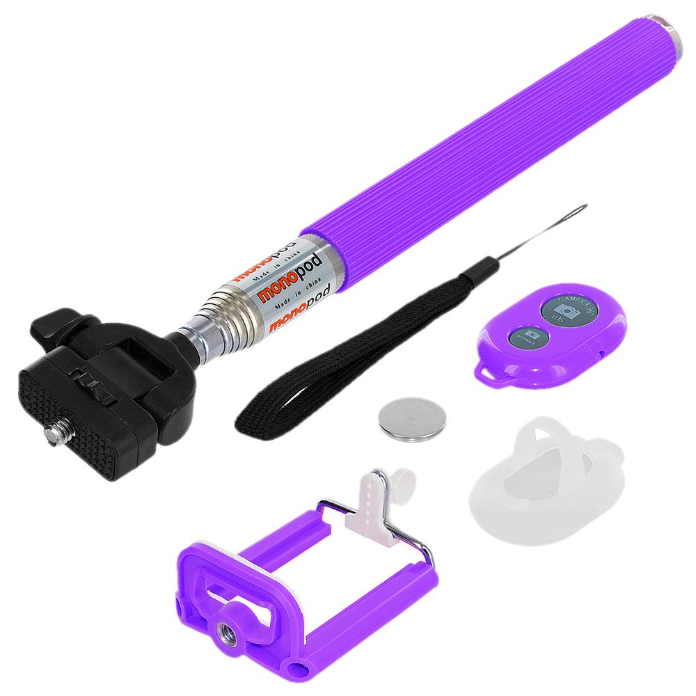 selfie stick bluetooth shutter remote handheld monopod extendable for phones ebay. Black Bedroom Furniture Sets. Home Design Ideas