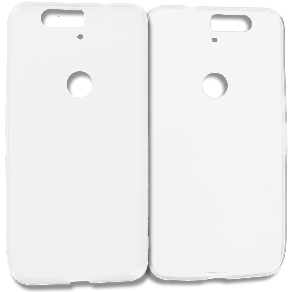 Huawei Google Nexus 6P Clear TPU Rubber Skin Case Cover