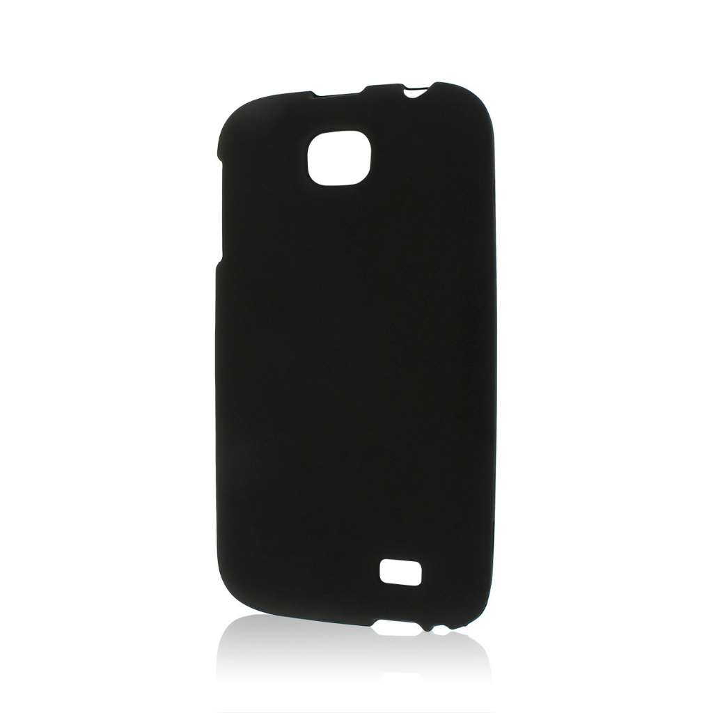 BLU Studio 5.3 II - Black MPERO SNAPZ - Rubberized Case Cover
