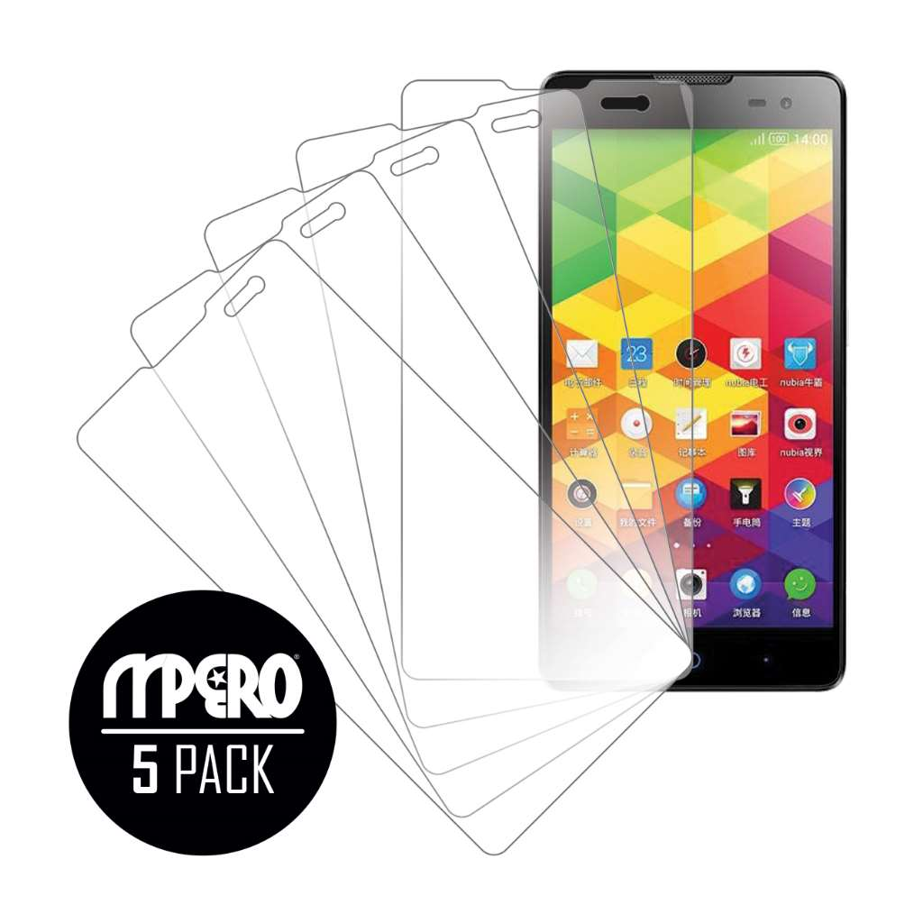 ZTE V5 Max MPERO 5 Pack of Ultra Clear Screen Protectors