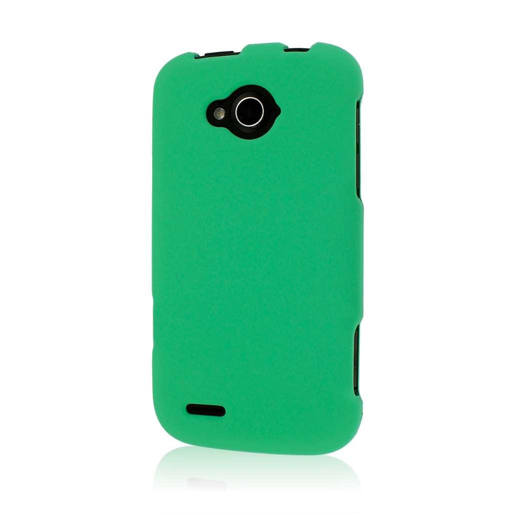 ZTE Reef - Mint Green MPERO SNAPZ - Rubberized Case Cover