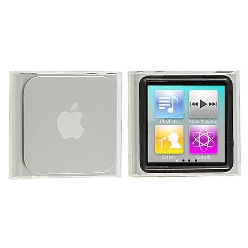 Apple iPod Nano 6th Generation Clear Crystal Transparent Hard Case Cover