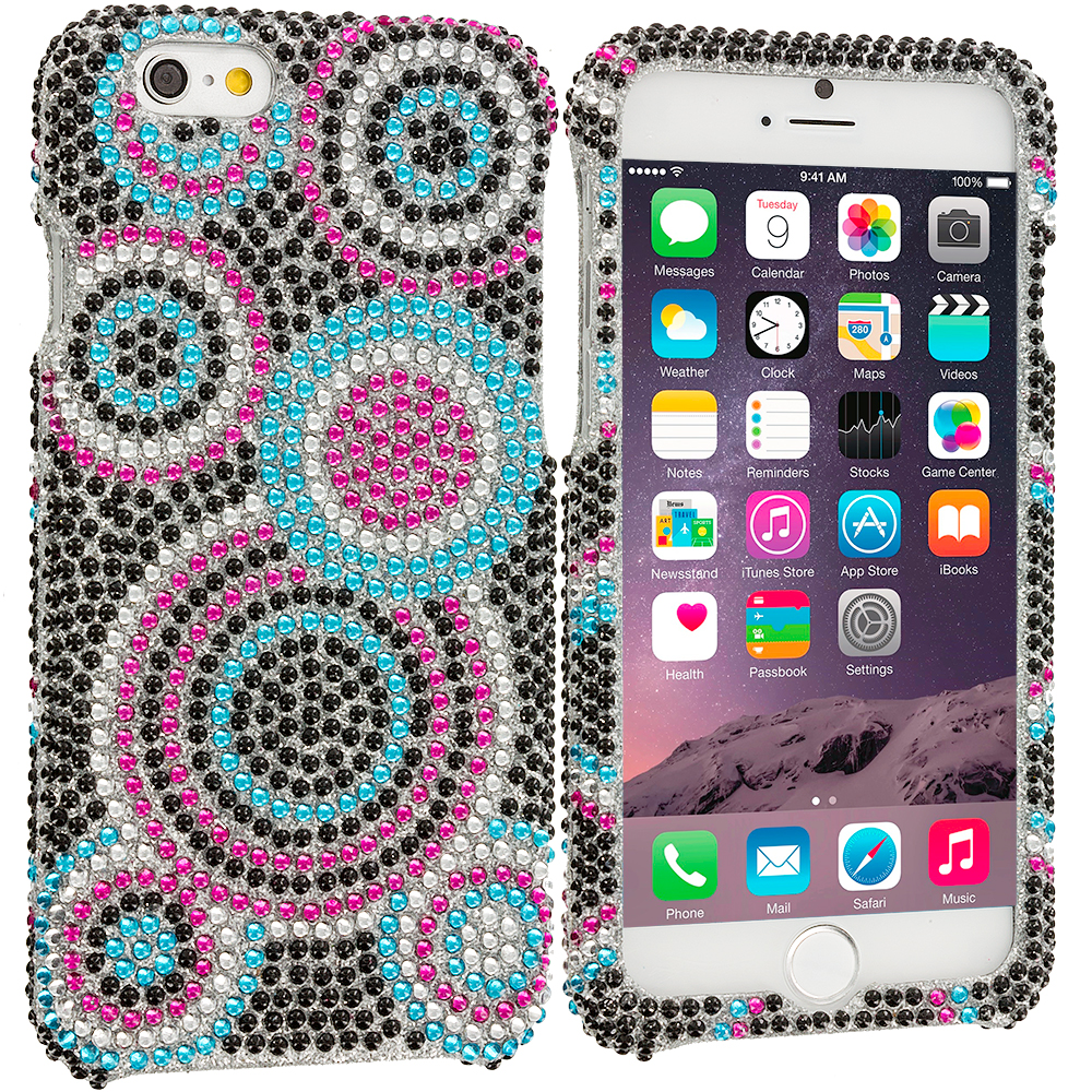 Apple iPhone 6 6S (4.7) Hubble Bubble Bling Rhinestone Case Cover