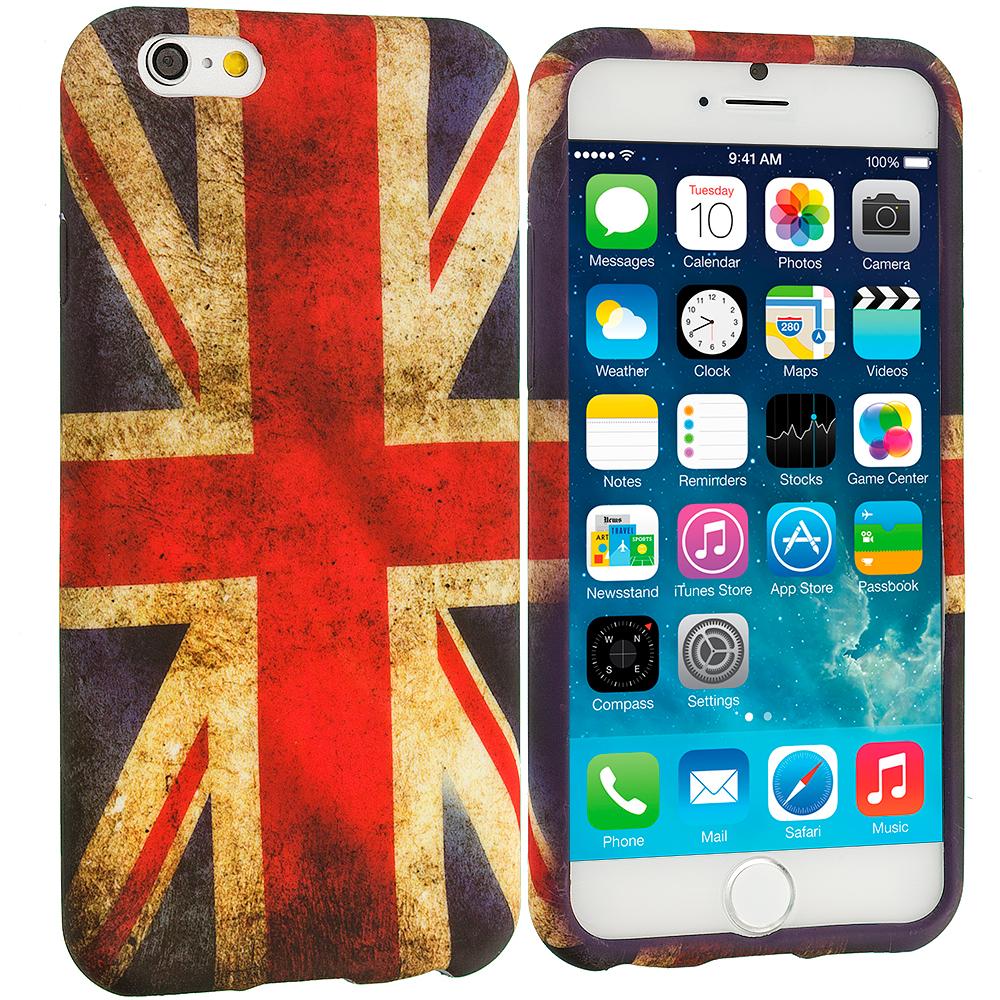 Apple iPhone 6 Plus 6S Plus (5.5) The Union Flag TPU Design Soft Rubber Case Cover