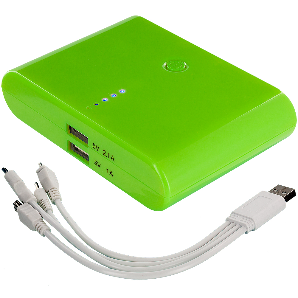 portable usb external battery backup power bank pack charger cable ebay. Black Bedroom Furniture Sets. Home Design Ideas