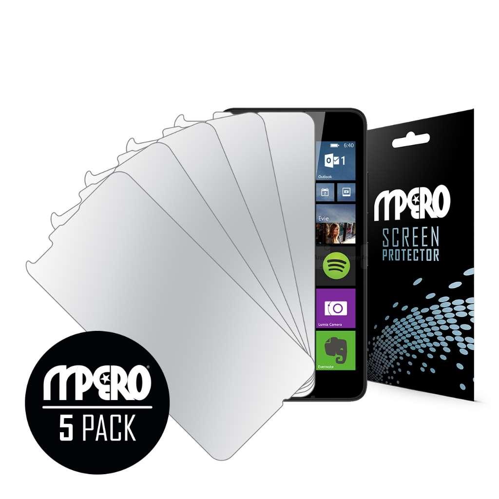 Microsoft Lumia 640 MPERO 5 Pack of Mirror Screen Protectors