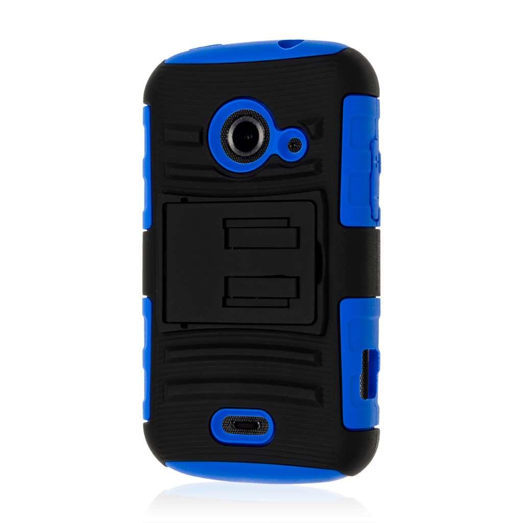 ZTE Prelude 2 - Blue MPERO IMPACT XT - Kickstand Case Cover