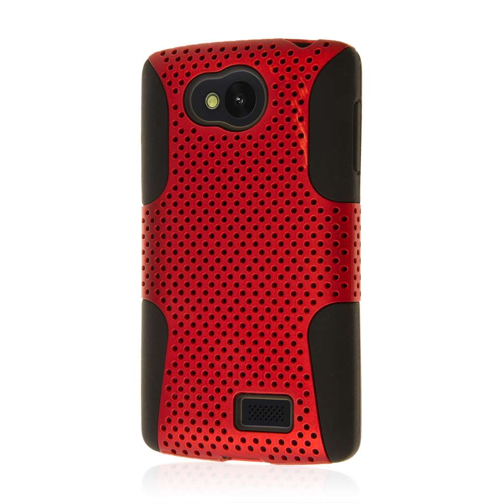 LG F60 - Red MPERO FUSION M - Protective Case Cover