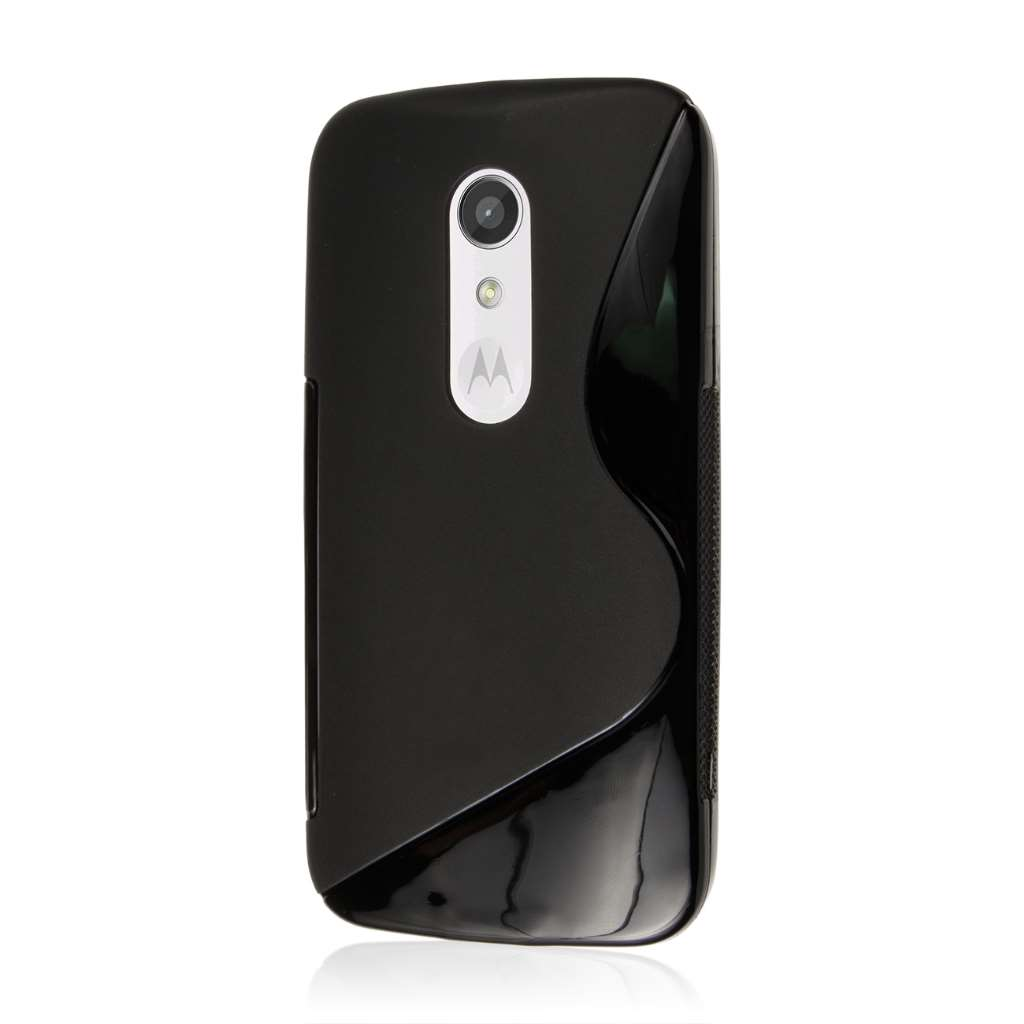 Motorola Moto G 2nd Gen 2014 - Black MPERO FLEX S - Protective Case Cover