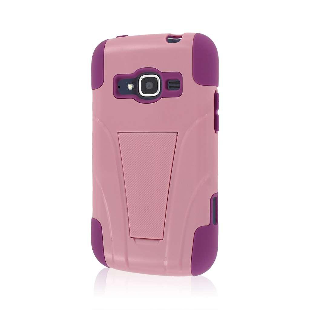 ZTE Concord 2 - Pink MPERO IMPACT X - Kickstand Case Cover