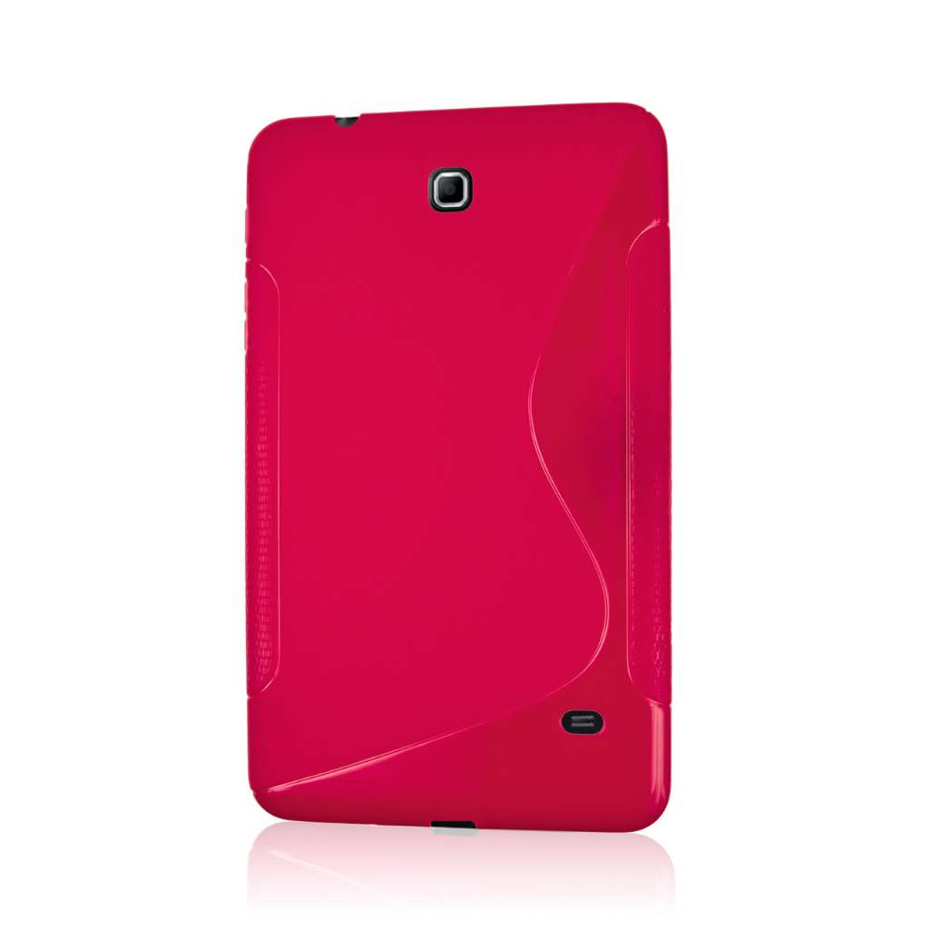 Samsung Galaxy Tab 4 8.0 - Hot Pink MPERO FLEX S - Protective Case Cover