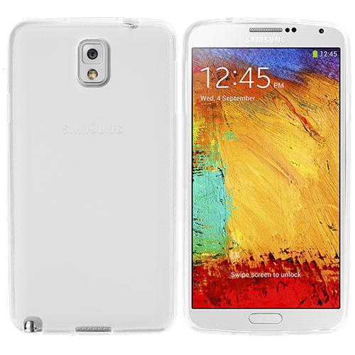 Samsung Galaxy Note 3 N9000 Clear TPU Rubber Skin Case Cover