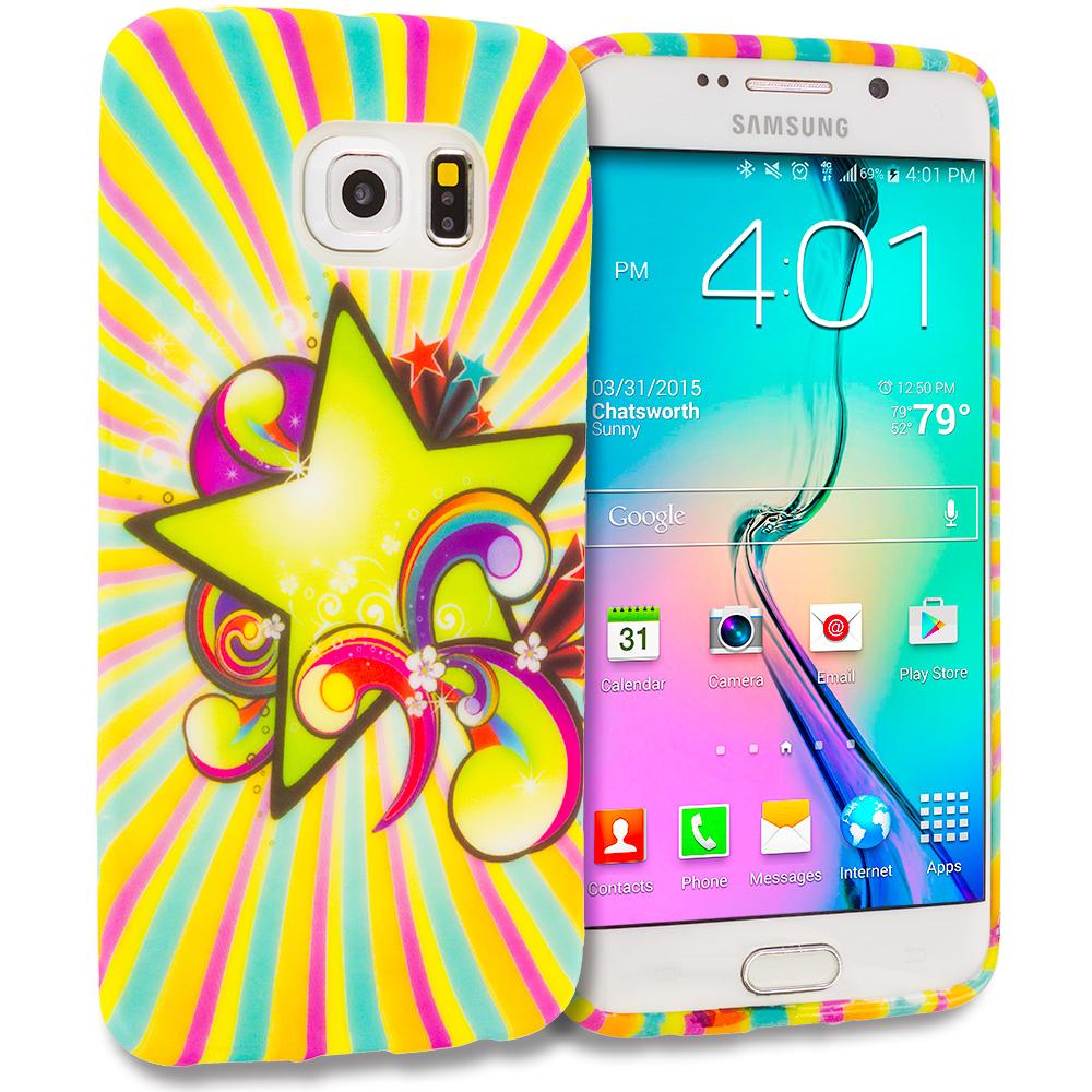 Samsung Galaxy S6 Edge SuperStar TPU Design Soft Rubber Case Cover