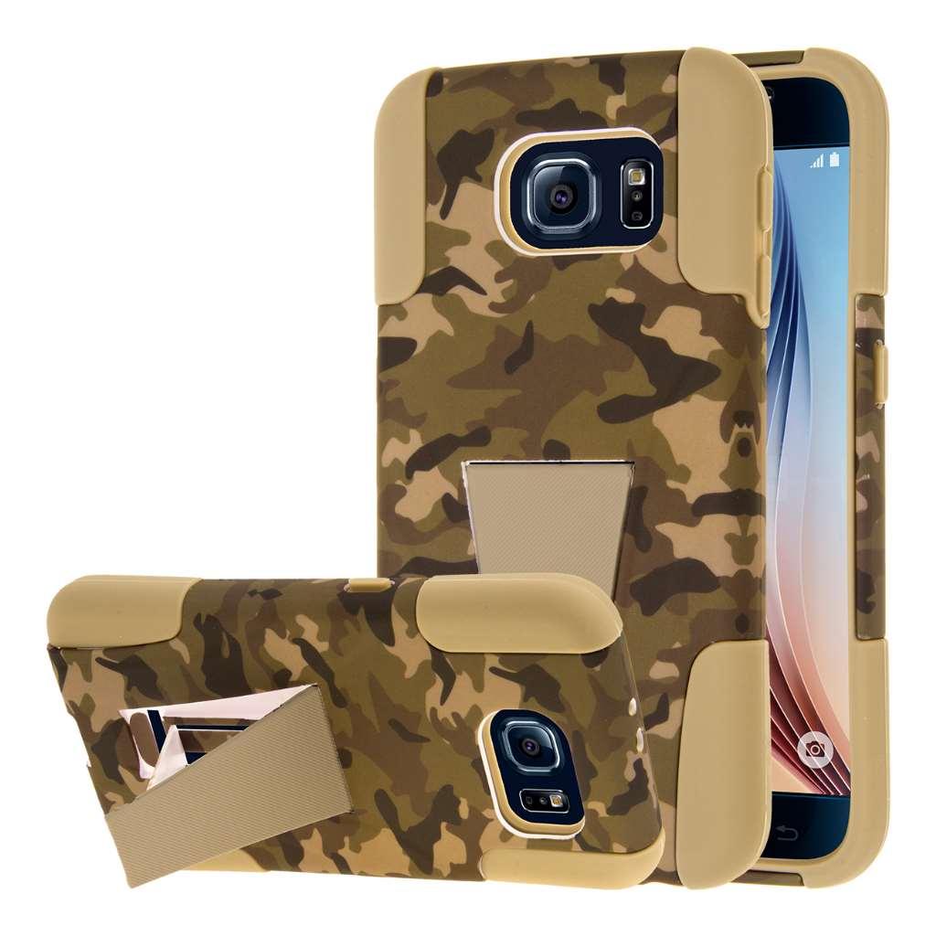 Samsung Galaxy S6 - Hunter Camo MPERO IMPACT X - Kickstand Case Cover