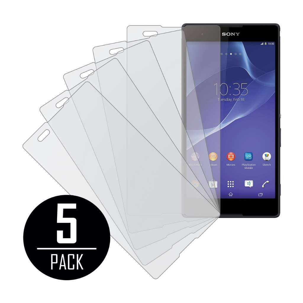 Sony Xperia T2 Ultra MPERO 5 Pack of Matte Screen Protectors
