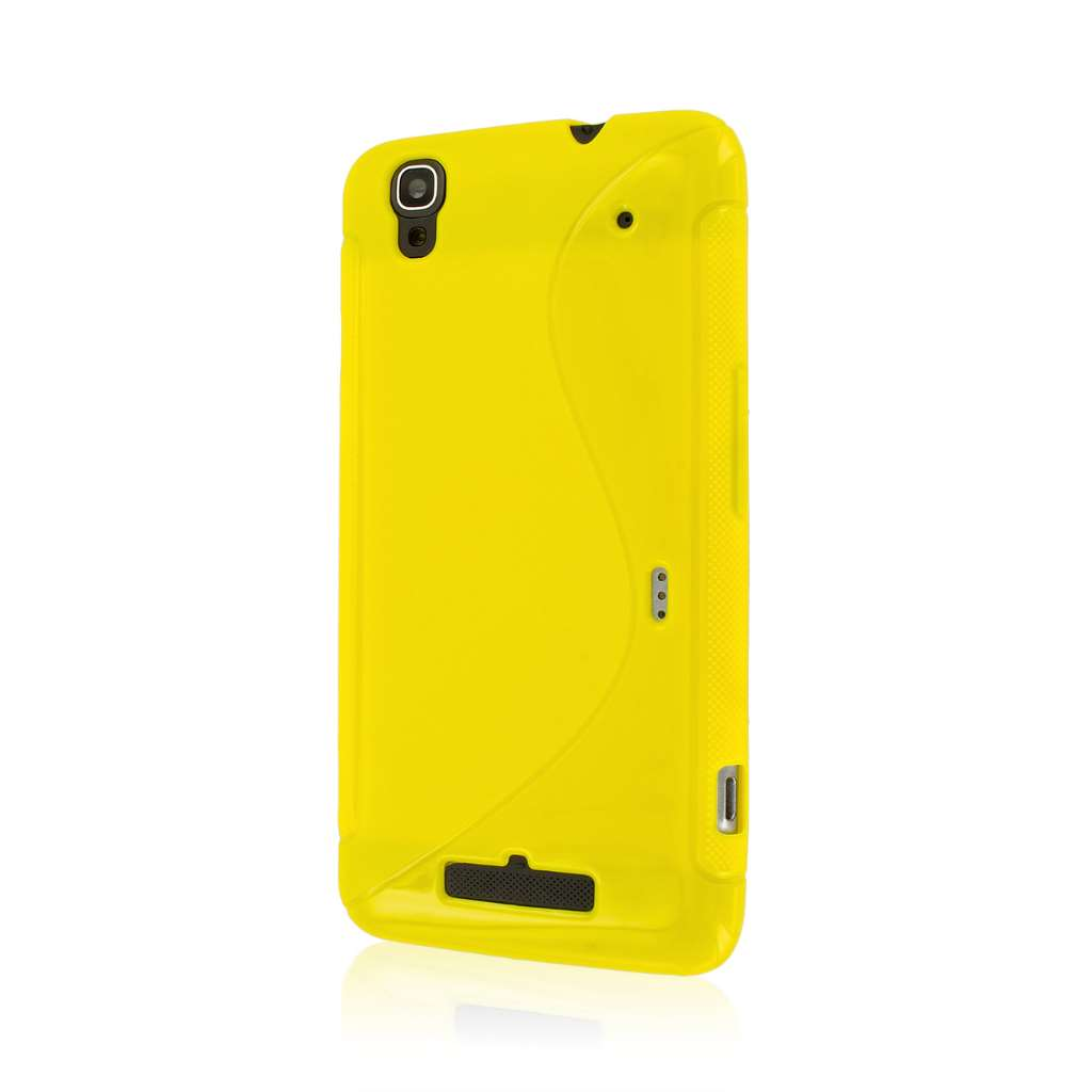 ZTE Boost Max - Yellow MPERO FLEX S - Protective Case Cover