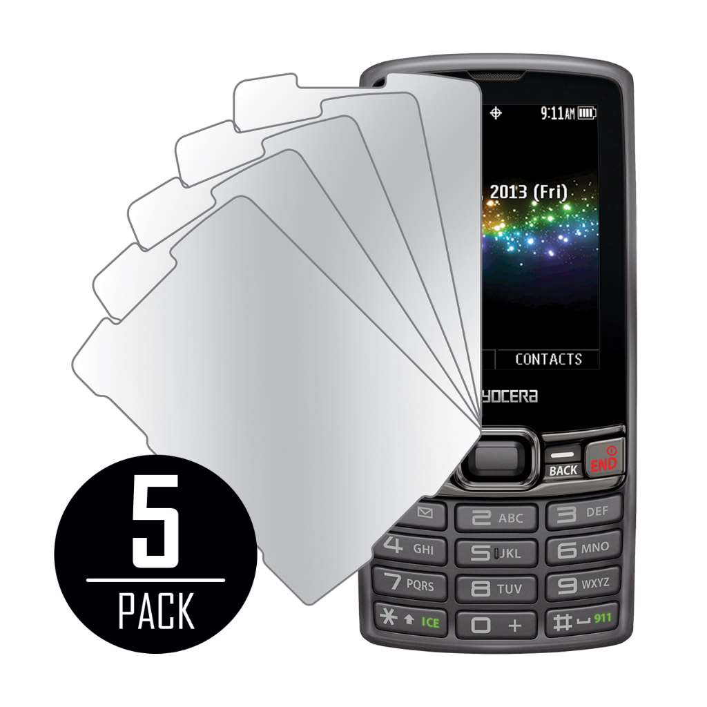 Kyocera Verve MPERO 5 Pack of Mirror Screen Protectors