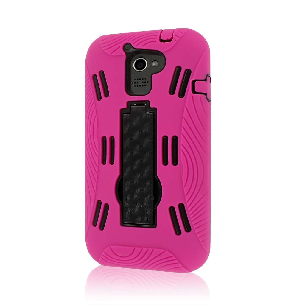 Huawei Premia 4G M931 - Hot Pink MPERO IMPACT XL - Kickstand Case Cover